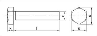 šrouby Din 933