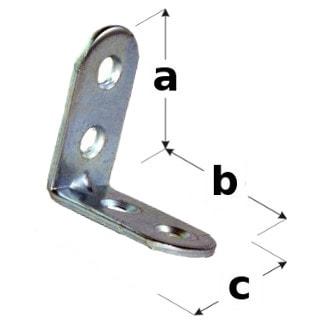 uholník na spájanie dreva UP2 rozmery
