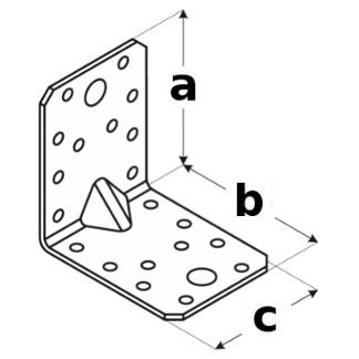 uholník s prelisom KPW rozmery